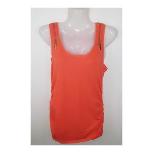Michael Kors orange tank top